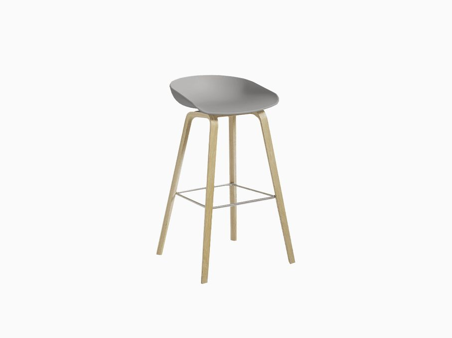 Banqueta-About-a-Stool-Cinza-com-base-Matte