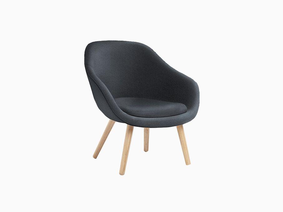 Poltrona-Baixa-About-a-Lounge-Cinza-Escuro