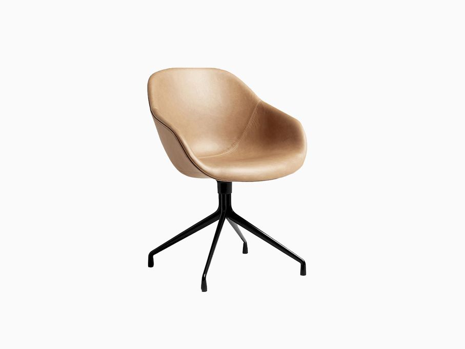Cadeira-About-a-Chair-Couro-Marrom