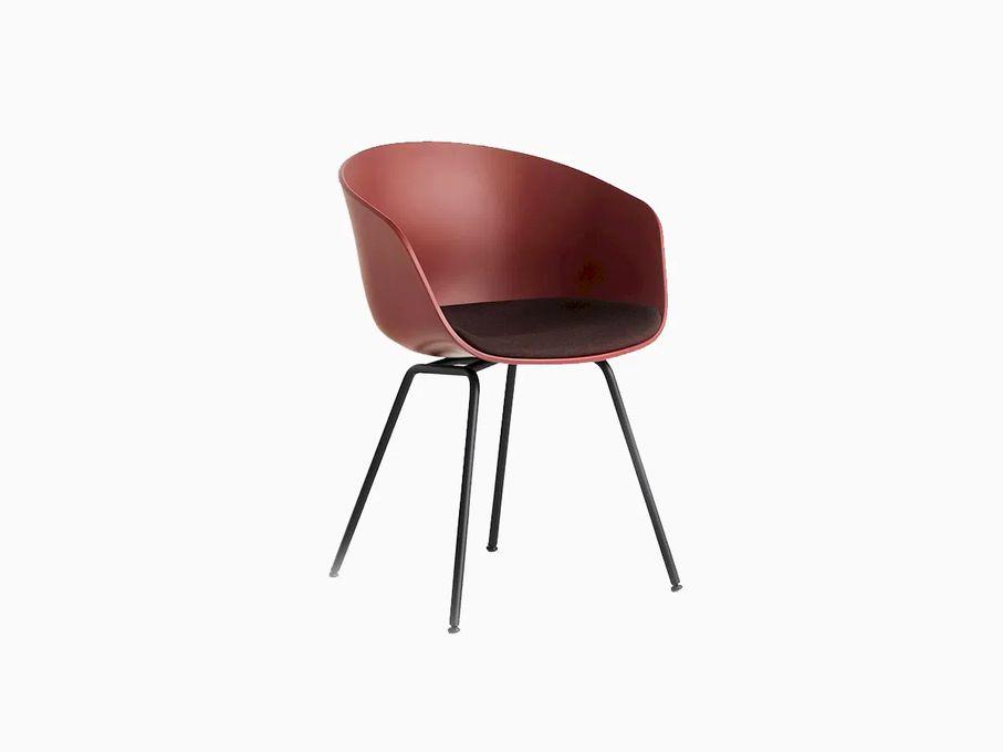 Cadeira-About-a-Chair-2606-Tijolo-com-assento-Preto